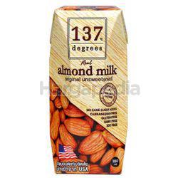 137 Degrees Almond Milk Original 180ml