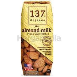137 Degrees Almond Milk Unsweeted 180ml