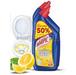 Harpic Active Cleaning Gel Lemon Zest 750ml + 500ml