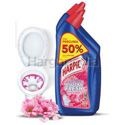 Harpic Active Cleaning Gel Wild Flower 750ml + 500ml