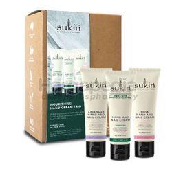 Sukin Hand Cream Trio Set