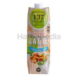 137 Degrees Walnut Milk Matcha Green Tea 1lit