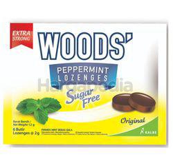 Woods' Peppermint Drops Sugar Free Original 15gm 6s
