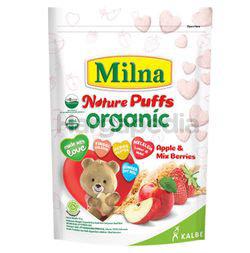Milna Nature Puffs Organic Apple & Mix Berries 15gm