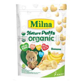 Milna Nature Puffs Organic Banana 15gm