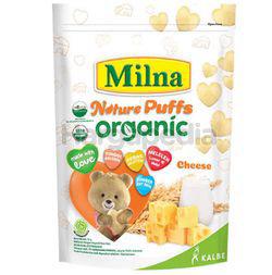 Milna Nature Puffs Organic Cheese 15gm