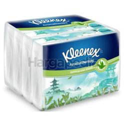 Kleenex 3ply Soft Pack Tissues Scented Japanese Green Tea 4x44s
