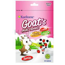 Karihome Goat's Milk Tab Berries 30s