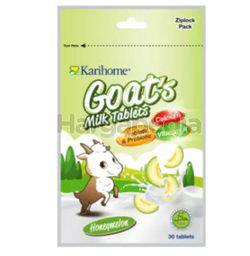 Karihome Goat's Milk Tab Honey Melon 30s