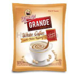 Kapal Api Grande White Coffee With Choco Topping 20x20gm