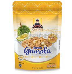 Captain Oats Granola Durian 200gm