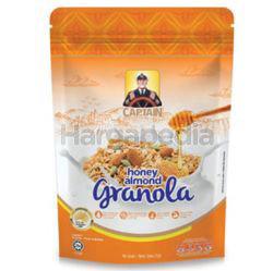 Captain Oats Granola Honey Almond 250gm