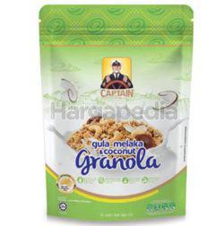 Captain Oats Granola Gula Melaka & Coconut 250gm
