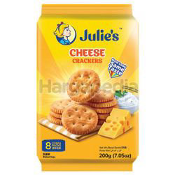 Julie's Cheese Crackers 200gm