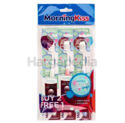 Morning Kiss Sensitive Toothbrush 2s+1s