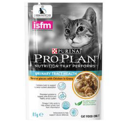Purina Pro Plan Adult Urinary Tract Health Chicken Wet Cat Food Pouch 85gm