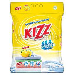 Kizz Detergent Powder Lemon 4kg