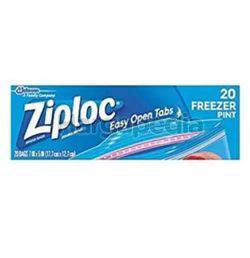 Ziploc Freezer Bags Quart 20s
