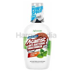 Against 24 Antibacterial Mouth Wash Fresh MInt 500ml