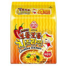 Ottogi Spicy Cheese Ramen Multipack 4x111gm