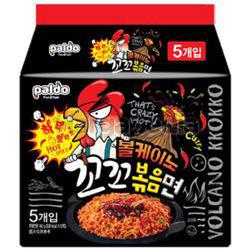 Paldo Volcano Spicy Chicken Ramyun 4x140gm