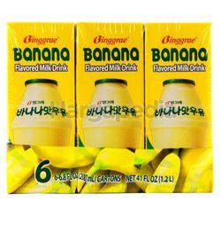 Binggrae Banana Milk 6x200ml