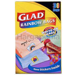 Glad Rainbow Sandwich Bag 30s