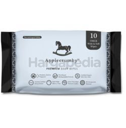 Applecrumby Extra Thick Baby Wipes 10s