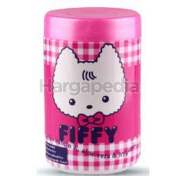 Fiffy Baby Wipes Pink 100s
