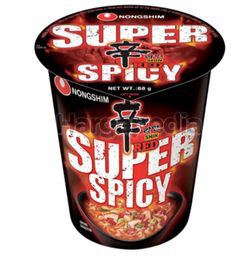Nong Shim Inst Noodle Super Spicy Ramyun Cup 68gm