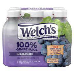 Welch's 100% Grape Juice 10oz 6x295ml