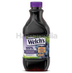 Welch's 100% Grape Juice 46oz 1.36lit