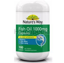 Nature's Way Fish Oil 1000mg 100s