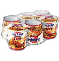 Mi Sedaap Cup Family Pack 6x85gm