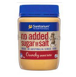 Sanitarium Peanut Butter Crunchy No added Sugar 500gm