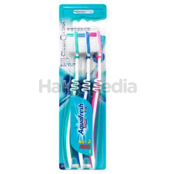 Aquafresh Clean & Control Toothbrush 2s+1s