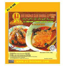 A1 Best One Instant Seafood Curry Paste 230gm