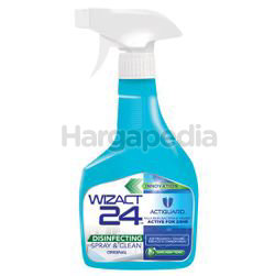 Wizact 24 Disinfectant Spray & Clean 450ml