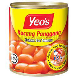 Yeo's Baked Beans 300gm