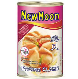 New Moon Pacific Clam 425gm