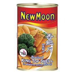 New Moon King Top Shell in Braised Slices 425gm