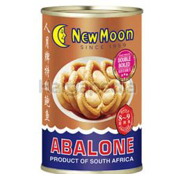 New Moon Braised South Africa Abalone 8-9s 400gm