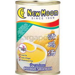 New Moon Premium Chicken Broth 400gm