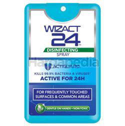 Wizact 24 Disinfectant Pocket Spray 18ml