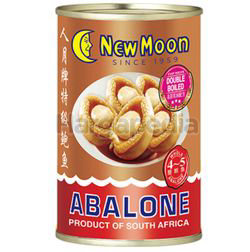 New Moon Braised South Africa Abalone 4-5s 400gm