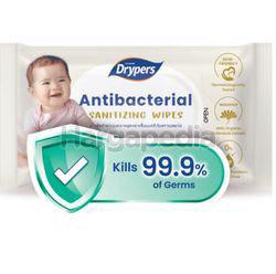 Drypers Antibacterial Wipes 20s