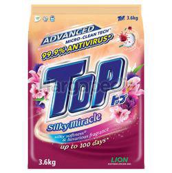 Top Detergent Powder Silky Miracle 3.6kg