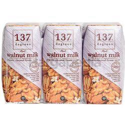 137 Degrees Walnut Milk Original 3x180ml