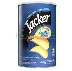 Jacker Potato Crisps Sour Cream & Onion 60gm