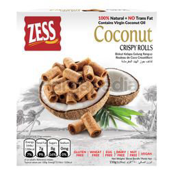 Zess Coconut Crispy Roll 150gm